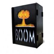 Luminária de Mesa Caixa Bomba Nuclear Boom