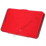 Nillkin Fresh Series Flip wallet Cover Case for Lenovo P780 Red