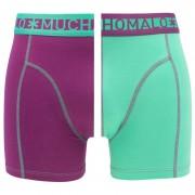Boxershorts 2-pack Paars & Groen III