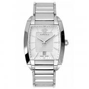 Versace - Mens Tonneau Character White Dial Bracelet Watch