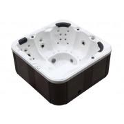 Whirlpool Outdoor Whirlpool Hot Tub Spa Venedig weiss mit 44 Massage Düsen + Heizung + ...
