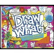 Draw What? a Doodling Drawing and Colouring Pad