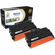 Catch Supplies Replacement TN850 TN820 High Yield Black Toner Cartridge 2 Pack |8 000 yield| Replaces the Brother TN-850 or TN-820 compatible with Brother DCP-L5500DN MFC-L5850DW HL-L6200DW