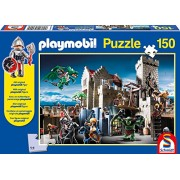 Schmidt Playmobil Fight for The Royal Treasure Jigsaw Puzzle (150-Piece)