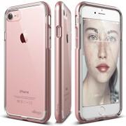 iPhone 7 Case, elago® [Dualistic][Rose Gold] - [Premium Bumper][Dual Layer][Premium Hybrid Construction] - for iPhone 7