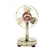 Desi Toys Vintage Antique Battery Brass miniature functional fan, Home decor, Vintage, collectible, perfect decorative piece, awesome table top