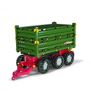 Rolly Toys Multi Triple Axel Trailer, Green