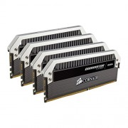 Corsair CMD16GX4M4B3000C15 Dominator Platinum Memoria per Desktop di Livello Enthusiast da 16 GB (4x4 GB), DDR4, 3000 MHz, CL15, con Supporto XMP 2.0, Nero