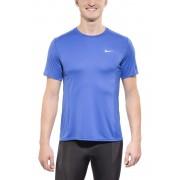 Nike Dri-FIT Miler Maglietta da corsa blu S Magliette da corsa