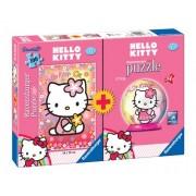 Ravensburger - 10791 9 - Hello Kitty - Bipack - Puzzle 100 Pezzi + Mini Ravensburger 3D Puzzle 54 Pezzi