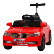Powered Wheels Kids Ride on Electric Car with 2 Motors Music Player RC Parental Remote Red or White