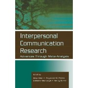 Interpersonal Communication Research by Mike Allen