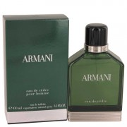 Giorgio Armani Eau De Cedre Eau De Toilette Spray 3.4 oz / 100 mL Men's Fragrances 535478
