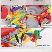 [ Motorial Alien Robot ] LOZ Robotic Building Set Block Toy Battery Motor Operated 3D Puzzle Design Alien Primate Robot