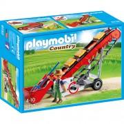 Playmobil - Country Farm - Transportor Pentru Baloti de Fan