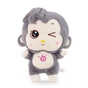 "TOLLION Cuddly Soft Apes Big Deals Plush Gray Monkey Toys 25"" Stuffed Animal Cushion Plush Orangutan Doll Valentine Gift New Baby Gift Graduate Gift Fiesta Gift for Girlfriend Children and Friends"