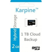 Karpine 2 GB MicroSD Card Class 4 Memory Card
