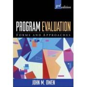 Program Evaluation by John M. Owen