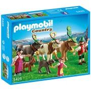 Playmobil - Granja, pastores alpinos con animal (5425)