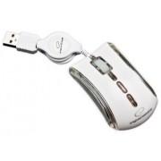 Mouse Cu Fir ESPERANZA EM109W Optic Alb/Neon