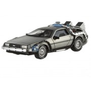 Delorean DMC-12 Back To The Future Time Machine Cult Classics 1/43 by Hotwheels X5493 by Hot Wheels