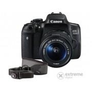 Kit aparat foto Canon EOS 750D (cu obiectiv 18-55 IS STM) + bandă