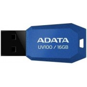 Stick USB A-DATA UV100 Slim Bevelled 16GB (Albastru)