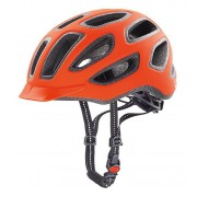 Kask rowerowy Uvex City E - neon orange mat