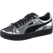 PUMA Vikky Platform Metallic Sneaker Damen in silber, Größe: 38