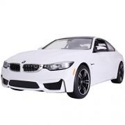Licensed Rastar R/C Remote Control Car Vehicle 1:14 BMW M4 Coupe 70900 White Car Model Kid Child Toy