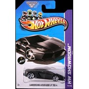 Hot Wheels HW Showroom Lamborghini Aventador LP 700-4 Black #173/250