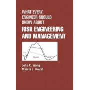 What Every Engineer Should Know About Risk Engineering and Management by John X. Wang
