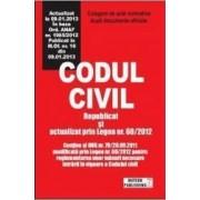 Codul civil republicat si actualizat prin legea nr.602012