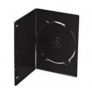 Box para DVD Amaray Slim Preto com 50 unidades