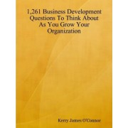 1,261 Business Development Questions To Think About As You Grow Your Organization by Kerry James O'Connor