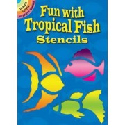 Fun with Tropical Fish Stencils by Sue Brooks