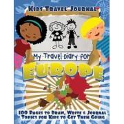 Kids Travel Journal by Lunar Glow Journals