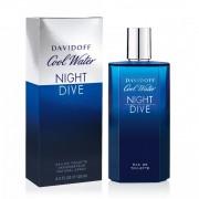 Davidoff cool water night dive eau de toilette spray uomo 125 ml