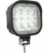 Lampa patrata - lumina de lucru SPOT cu 9 LED-uri