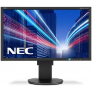 "Monitor IPS LED NEC MultiSync 23"" EA234WMi, Full HD (1920 x 1080), HDMI, DVI, VGA, DisplayPort, USB, 6 ms, Boxe, Pivot (Negru)"