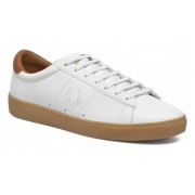 Fred Perry - Spencer Tumbled Leather by Fred Perry - Sneaker für Herren / weiß