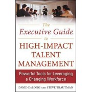 The Executive Guide to High-Impact Talent Management: Powerful Tools for Leveraging a Changing Workforce by David Delong