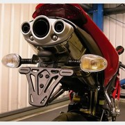"Portamatrícula ""Tail Tidy"" - Triumph 675 Daytona"