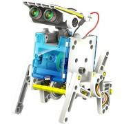 D Mcark Kids Science Solar Energy Saving Power 4 In 1 Robot Puzzle Kit For Educational Development