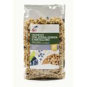 Musli crocant bio cu fulgi de ovaz, quinoa si afine 375g