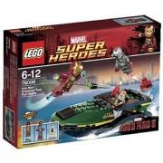Lego Super Heroes Iron Man:? Seaport Battle 76006