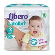 Libero comfort pannolino per bambino taglia 1 (5-9 kg) - 28 pezzi