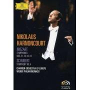 Nikolaus Harnoncourt - Sinfonie 4/Sinfonien 31/39-41 (0044007342909) (2 DVD)
