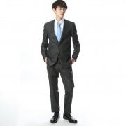 【SALE 32%OFF】コムサイズム COMME CA ISM すっきりとした細身シルエットのスーツ (チャコール)