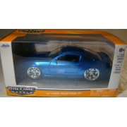2010 Ford Mustang GT Jada Big Time Muscle 1:32 Scale BLUE